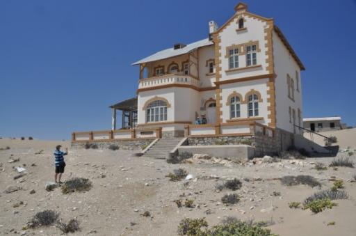 Kolmanskuppe Ghost Town - the only restored house