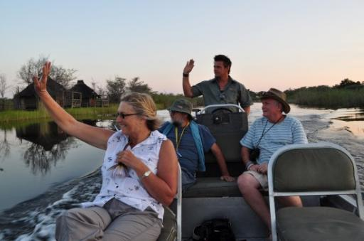 10 Boat ride on the Kwando River