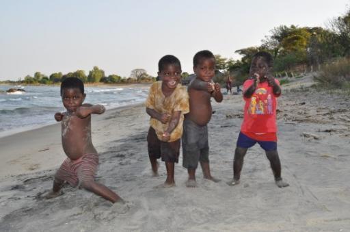 Four little ninjas
