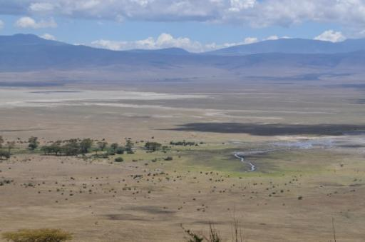 Exit of Ngorongoro Crater