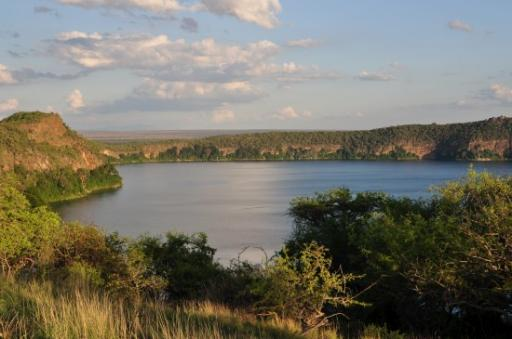 Lake Chala - on the Tanzania-Kenya border