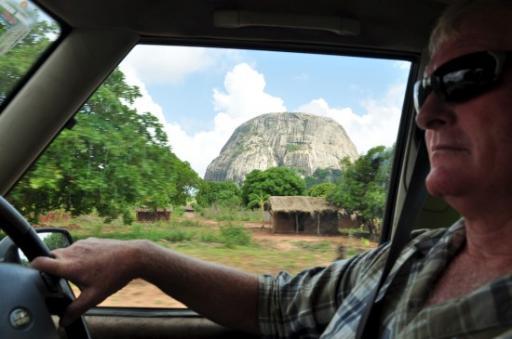 3 Huge Granite Domes Outside Of Nampula Vegetation Became