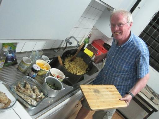 Echtpaar kok is aan het werk geweest.. mmm!