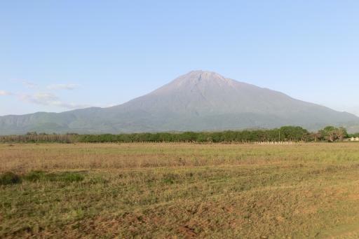 Mount Meru bij Arusha