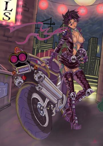 Unmasked_Rider_by_80Gunz