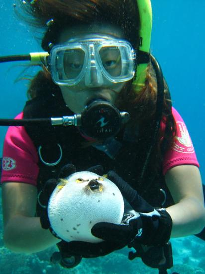 Terry with Puffer