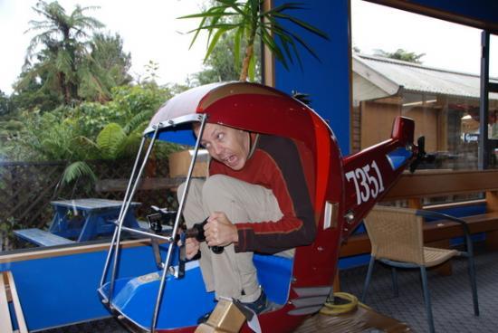 Mark takes scenic flight
