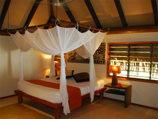 Our bure bedroom