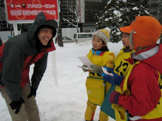 Mark and students