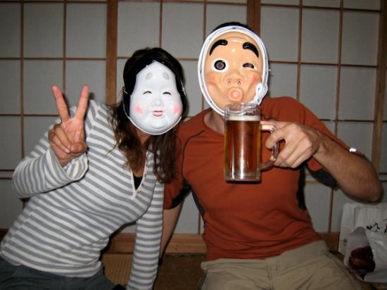 Okame and Hyottoko