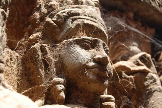 Detail of Angkor Thom
