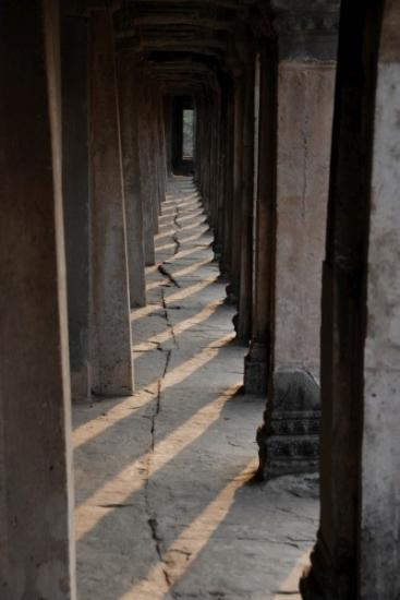 Halls of Angkor Wat