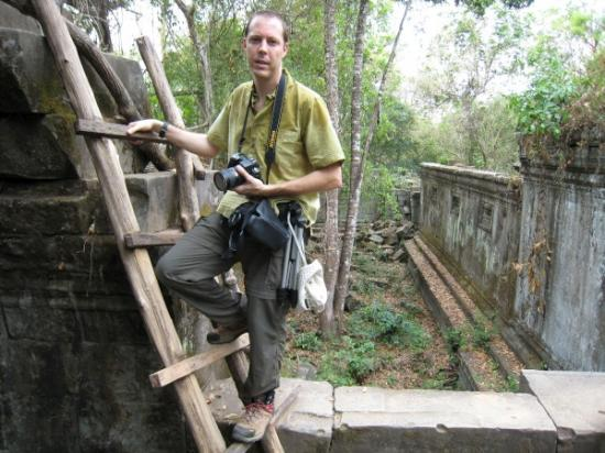 Mark at Beng Mealea Temple