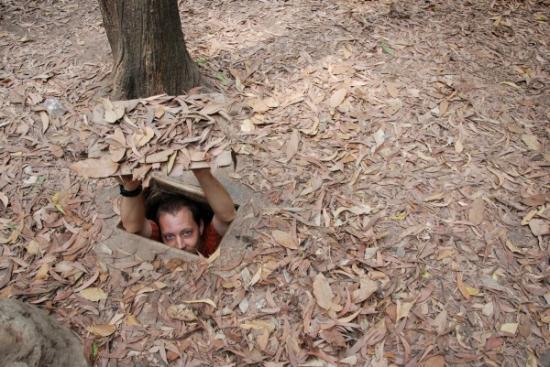 Mark hides