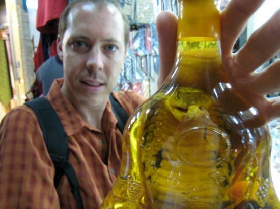 Cobra in a bottle!