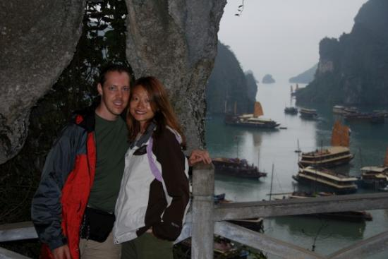 Us at Ha Long Bay