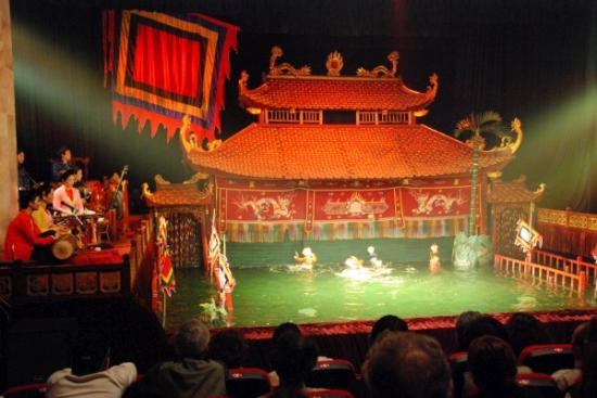 Water puppet stage