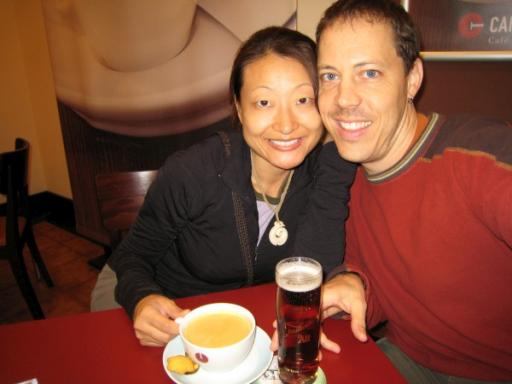 German beer and coffee