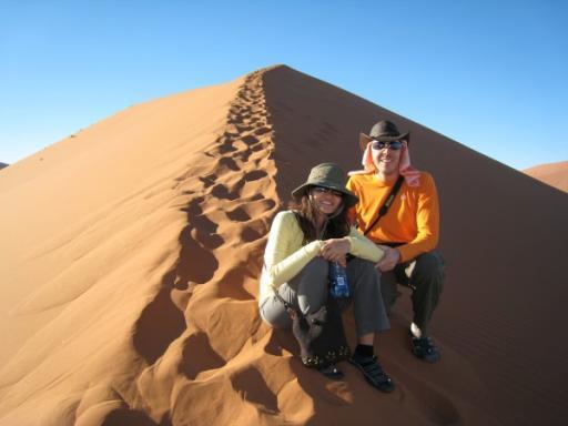 Mark & Terry climb Dune 45