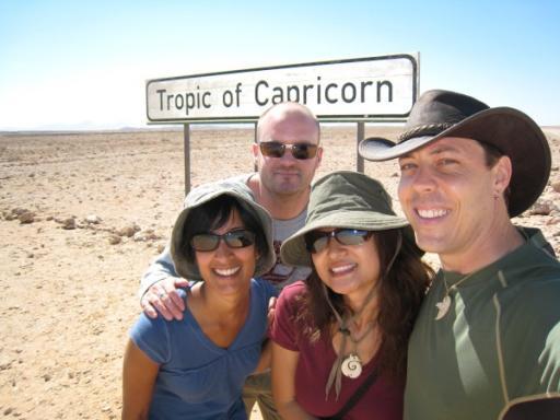 Crossing Tropic of Capricorn