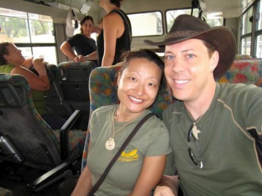 On the road to Botswana
