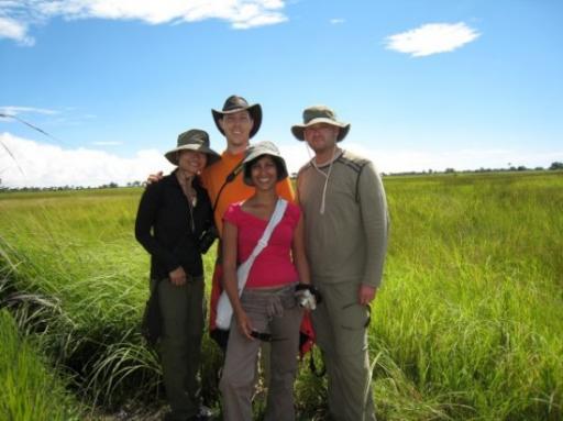 Us at the Okavango Delta