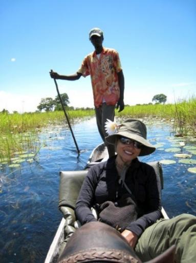 Mokoro ride down the Delta