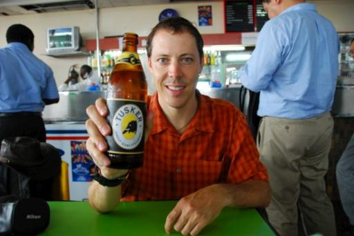My first Tanzania beer, Tusker