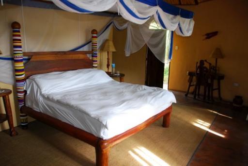 Maasai Village lodge room