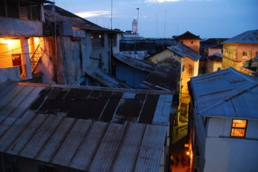 Stone Town at dusk