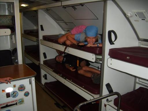submarine bunks