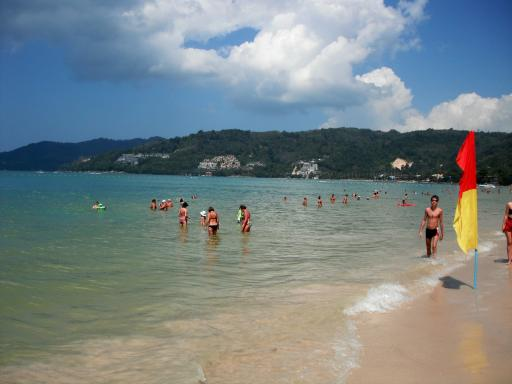 Patong Beach, a non crowded bit