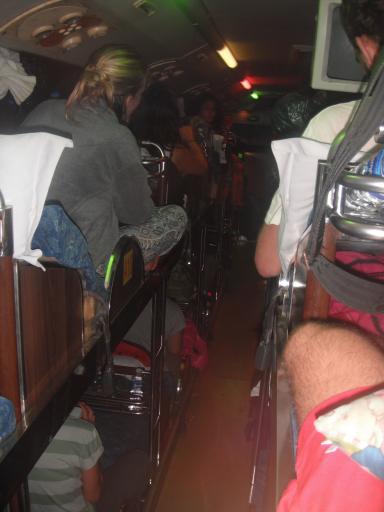 Sleeping bus from Nha Trang to Saigon