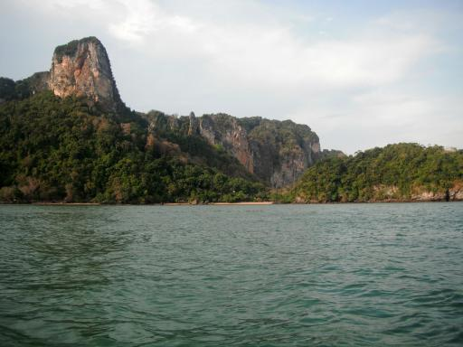 Scenery heading back to Krabi