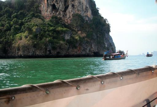 Heading out to the Phi Phi ferry