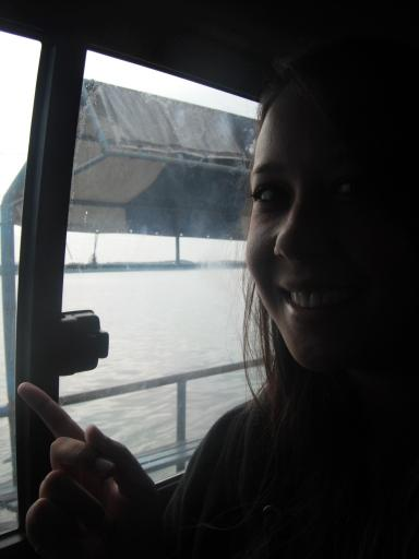 """""""We're in a bus...on a boat...on the water!!"""""""