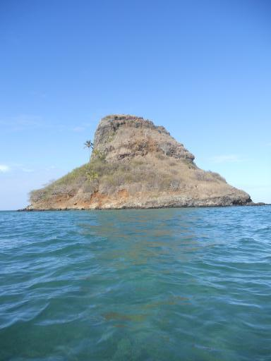 Chinaman's Hat from the water