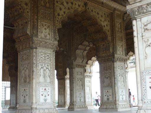 6. Delhi - Artwork Inside the Red Fort