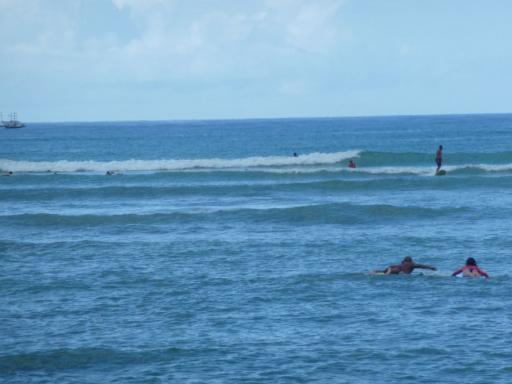 2. Honolulu - Surfers on Waikiki Beach