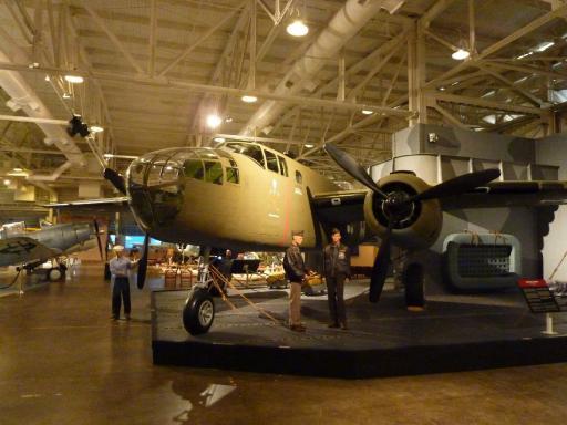 17. Pacific Air Museum - B22 Mitchel Bomber
