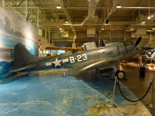 18. Pacific Air Museum - A Dauntless Fighter