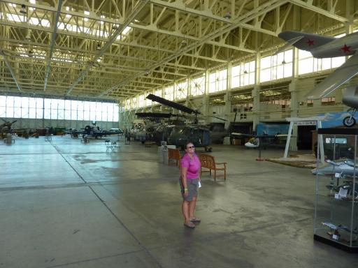 20. Pacific Air Museum - Museum Hanger