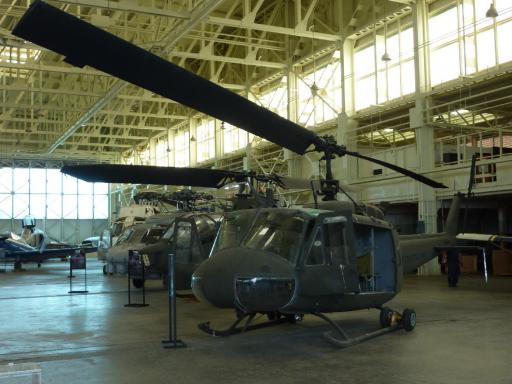 21. Pacific Air Museum - Huey Helicopter