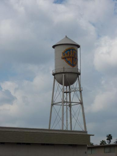 19  famous warner brothers studio water tower
