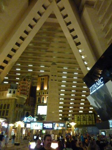 7 Las Vegas Inside Luxor Casino Clare And Paul S