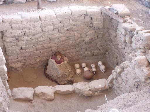 66. Nasca - Mummified Lady