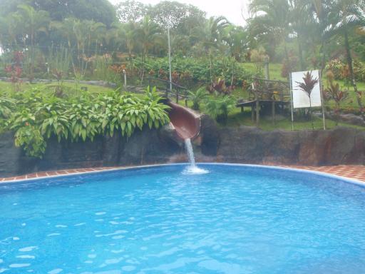 hot water slide