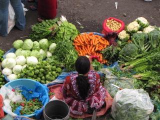 Better than St  Jacobs Market, Xela Guatemala - Central America