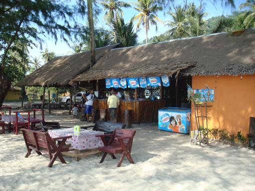Cricket beach bar