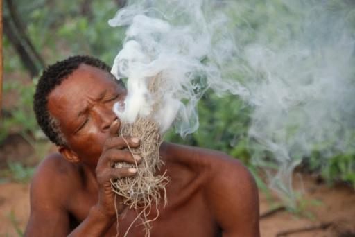 Bushmen Starting Fire